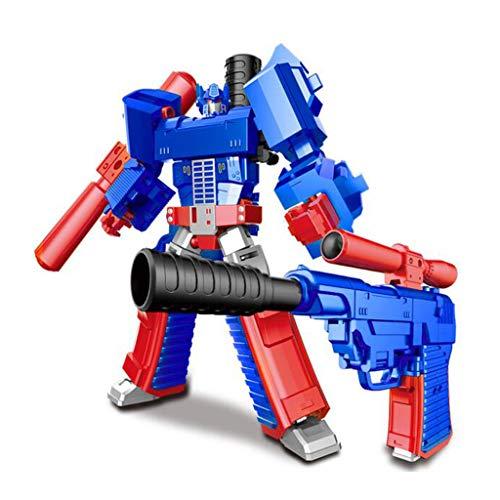 Siyushop Juguete de deformación Manual, Modelo de Robot de Combate, Modelo de Juguete de Pistola, Juguete de deformación...