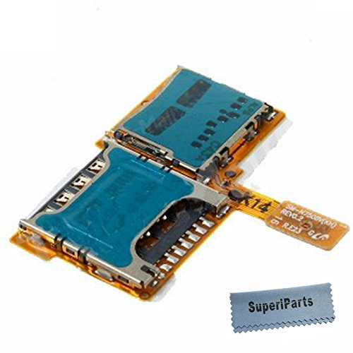 Amazon com: SuperiParts SIM Card Holder Micro SD Memory Slot