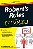 img - for Robert's Rules For Dummies by Jennings PRP, C. Alan (July 31, 2012) Paperback book / textbook / text book