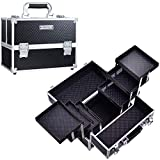 Frenessa Makeup Train Case 12 inch Large…