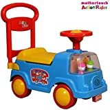 Mothertouch Action Rider Ride On for Infants and Kids (Blue)