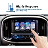 LFOTPP Compatible Tempered Glass Navigation Info Center Touch Screen Protector Replacement 2015-2018 Chevrolet Colorado Suburban Tahoe 8 inch Screen, If Applicable