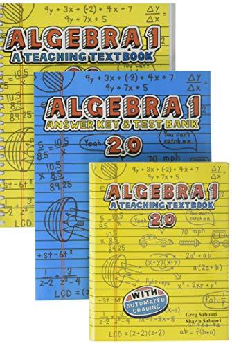 Teaching Textbooks Algebra 1 Complete Set 2.0  (Best Homeschool Algebra 1 Curriculum)