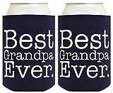 Best Grandpa Koozies - Funny Beer Coolie Best Grandpa Ever 2 Pack Review