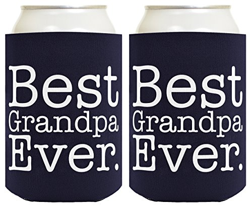Funny Beer Coolie Grandpa Coolies