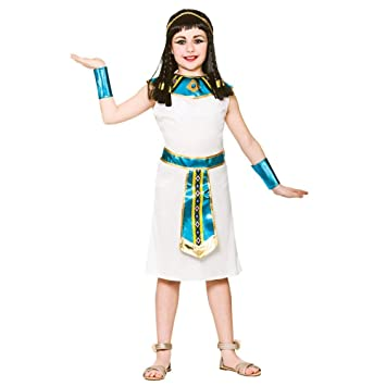 Disfraz de Chica Cleopatra Histórico (M 5-7 años): Amazon.es ...