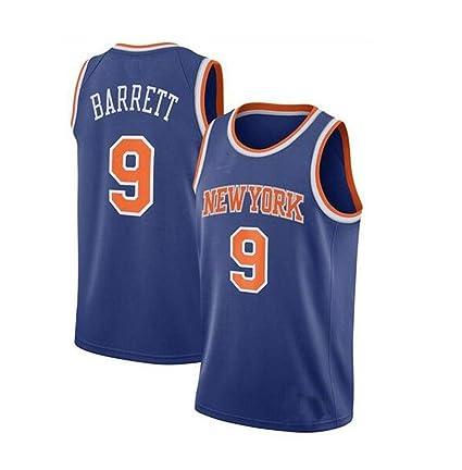 Ropa de Baloncesto para Hombre, Knicks #9 RJ Barrett 2019 Camiseta ...