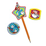 EUREKA DR SEUSS LENTICULAR PENCIL TOPPER (Set of 24)