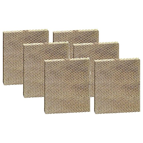 Fits Aprilaire Models - Tier1 Replacement for Aprilaire Models 350, 360, 560, 560A, 568, 600 Water Panel 35 Humidifier Filter 6 Pack
