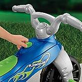 Fisher-Price Kawasaki Tough Trike, Blue/Green