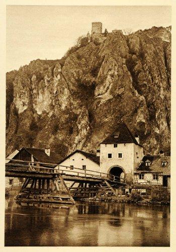1924 Germany Bavaria Altmuhl Neu Essing Randeck Castle - Original (Neu Castle)