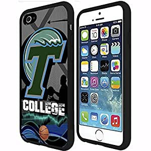 New Orleans Tulane Green Wave College Basketball Sports Rubber Snap on Phone Case (iPhone 6 Plus)