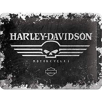 Harley-Davidson Skull metal plate