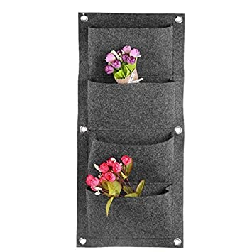 Quate Tasche Aufhängen Vertikal Wand Garten Pflanzgefäß Aufhängen