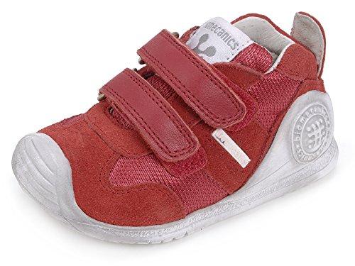 Biomecanics Unisex Baby 162149 Niedrige Hausschuhe Rot (Red)