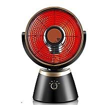 MAZHONG Space Heaters Vertical Fan Heater, 800 W, Black