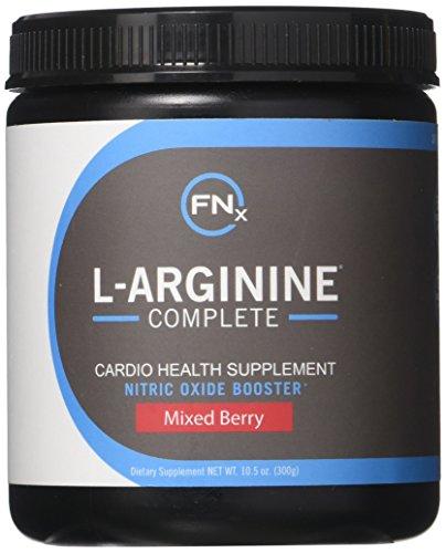 Fenix Nutrition - FNX L-Arginine Complete - Cardio Health Formula - Contains L-Citrulline - Enhance Effects Of Nitric Oxide - Secret Weapon For Libido - Mixed Berry - 3 ()