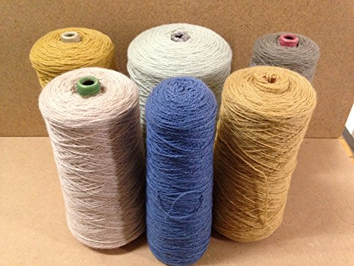 Yarn Place New Zealand Wool Yarn Felted Knits Tapestry Rugs Hats Mixed Color Lot #313