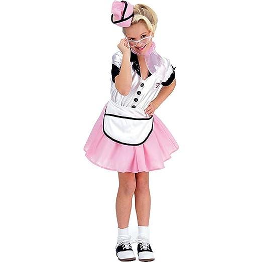 Vintage Style Children's Clothing: Girls, Boys, Baby, Toddler Soda Pop Girl Large 50s 50s Retro Costume  AT vintagedancer.com
