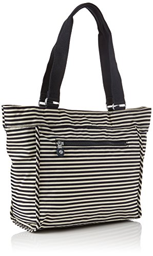 S Kipling Shopper Marine Stripy Sac New Femme Multicolore rrv87REwq