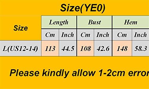Pocket Neck Hemp Loose Real Ye0 Dress Baggy Sheer Long Maxi J00 Crew YESNO Casual Linen 100 Women OqwR6HWC