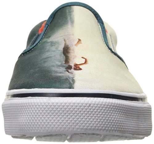 Sperry Top-sider Herenstripper S / O Shark Attack Fashion Sneaker Marine