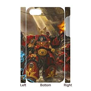 Protection Cover Pexbw iphone4 4S 3D Cell Phone Case White warhammer game Protection Cover
