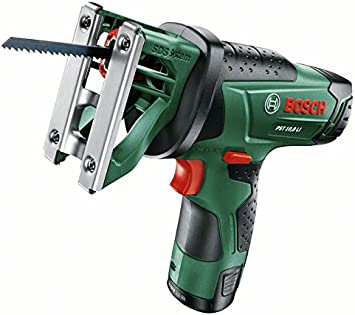 Bosch Home and Garden 0 603 3B4 002 Sierra de calar con batería de litio, 27 W, 10.8 V