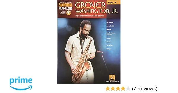 Amazon Com Grover Washington Jr Saxophone Play Along