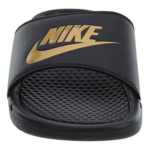 Oro Uomo Nike Metallizzato Benassi JDI Ciabatte Nero vCX6q8w
