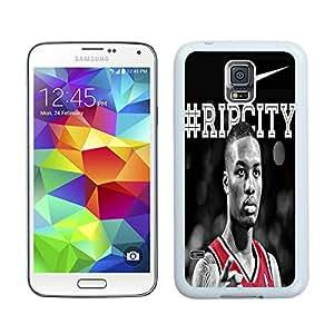 Damian Lillard White Hard Plastic Samsung Galaxy S5 I9600 G900a G900v G900p G900t G900w Phone Cover Case