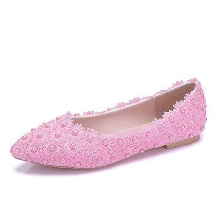 6ff976da0d Amazon.com: RHYHJK Wedding Shoes Women's Classic Fashion Flat Shoes ...