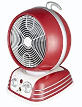 Optimus H-1418 Retro Design Oscillating Fan Heater