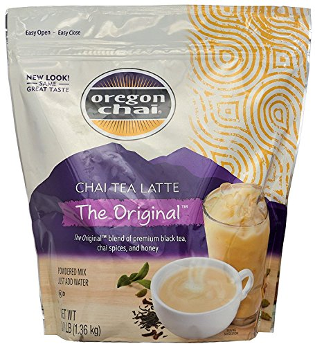 (Oregon Original Chai, Dry Powder Mix - 3lb Bag (Case of 4))