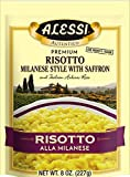 Alessi Milanese Risotto, 8-Ounce Packages (Pack of 6)
