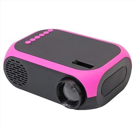 NCBH Proyector portátil, Mini proyector 1080P Full HD y Pantalla ...