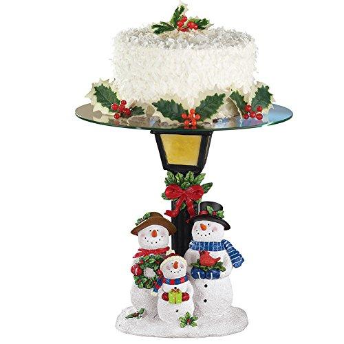 Winter Snowman Cake Plate ()