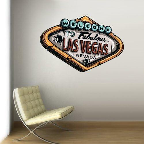 Las Vegas Casino Brand Cheap Sale Venue Sign store Decal Wall Nevada Col768