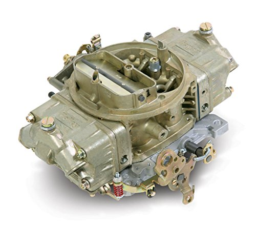 (Holley 0-4781C Model 4150 Double Pumper 850 CFM Square Bore 4-Barrel Mechanical Secondary Manual Choke New Carburetor )