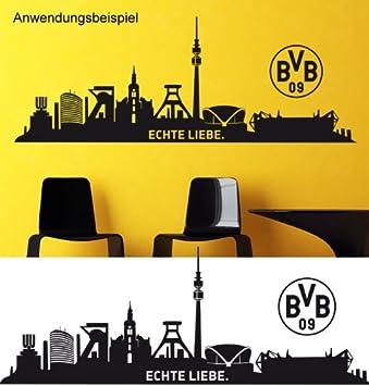 Borussia Dortmund Wandtattoo Skyline Echte Liebe Amazonde Spielzeug