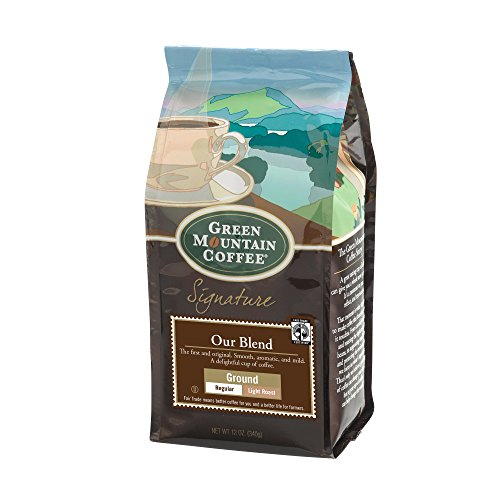 Green Mountain Coffee Roasters Our Blend, Single Serve Coffee Ground coffee, 12 oz