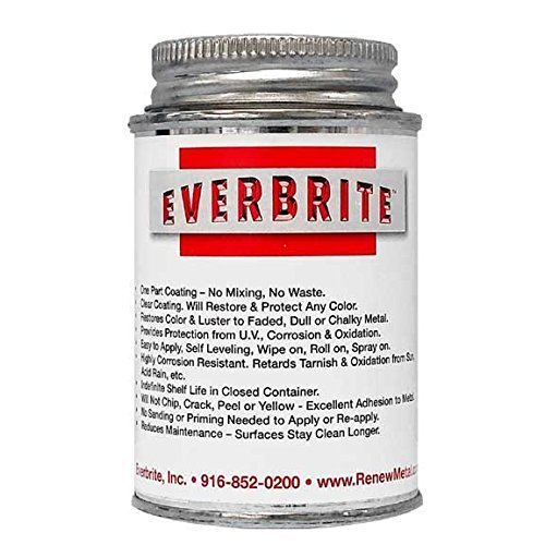 EVERBRITE 4 Oz. Clear, Protective Coating for Metal by EverBrite