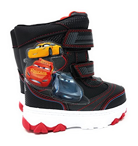 Cars 3 Toddler Boys Winter Snow Boots