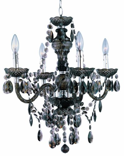- Park Madison Lighting PMC-6604-SM Chandelier/Ceiling Fixture, Smoke
