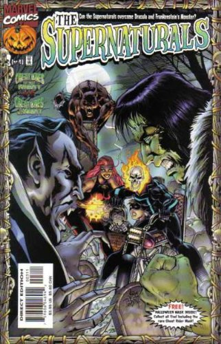 The Supernaturals #3 [of 4] (Includes Halloween mask