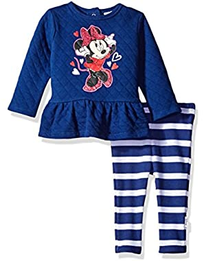 Baby Girls' Minnie Mouse Quilted Tops