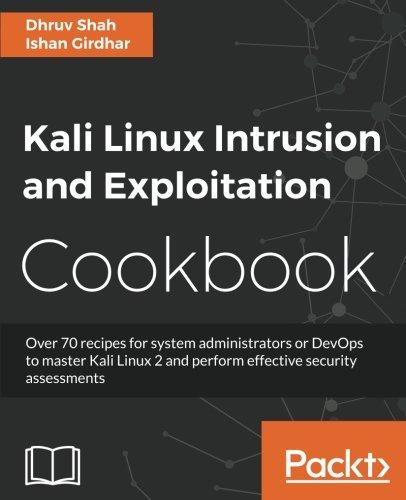 - Kali Linux Intrusion and Exploitation Cookbook