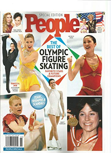 PEOPLE MAGAZINE THE BEST OLYMPIC FIGURE SKATING SPECIAL EDITION - Edition Skating Special