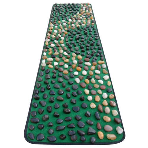 EliteShine-Christmas-Gift-for-Daddy-New-Year-Gift-for-Mom-Cobblestone-Foot-Massage-Mat-Walkway