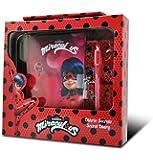Kids- Ladybug Diario con Penna ad Inchiostro secreto, Dimensioni: 23x 22cm, (LY17097)